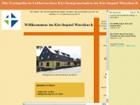 kirche-wurzbach.de Webseite Vorschau