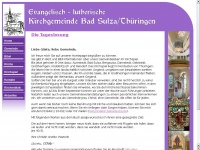 kirchebadsulza.de Webseite Vorschau