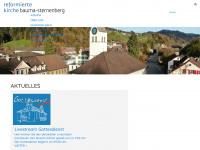 kirchebauma.ch Webseite Vorschau