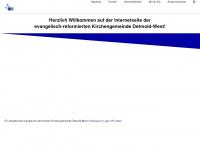 kirchedetmoldwest.de Webseite Vorschau
