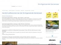 kirchegerzensee.ch Webseite Vorschau