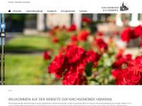 kircheheimiswil.ch Webseite Vorschau