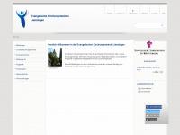 kirchengemeinde-lienzingen.de Webseite Vorschau