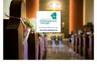 kirchengemeinde-stellingen.de Webseite Vorschau