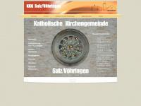 kirchengemeinde-sulz-voehringen.de Webseite Vorschau
