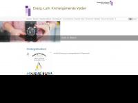 kirchengemeinde-velden.de Webseite Vorschau