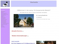 kirchengemeinde-walsdorf.de Webseite Vorschau