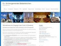 kirchengemeinde-wiebelskirchen.de Webseite Vorschau