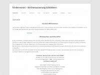 kirchensanierung-schoenborn.de Webseite Vorschau
