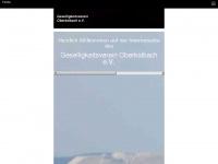 kirmes-oberkalbach.de Webseite Vorschau