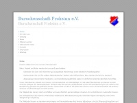 kirmesbursche.de Webseite Vorschau