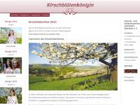 kirschbluetenkoenigin.de Webseite Vorschau