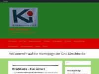kirschhecke.de Webseite Vorschau