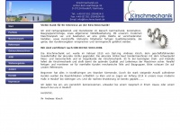 kirschmechanik.de Webseite Vorschau