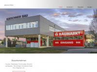 kirschner-bau.at Webseite Vorschau