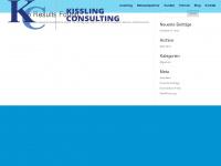 kisslingconsulting.ch Webseite Vorschau