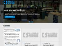 kisters-stiftung.de Webseite Vorschau