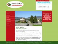 kistler-gemuese.ch Webseite Vorschau