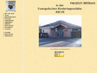 kita-arche-dorsten.de Webseite Vorschau