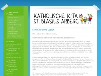 kita-arberg.de Webseite Vorschau