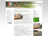 kita-berge.de Webseite Vorschau