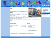 kita-blauland.de Webseite Vorschau