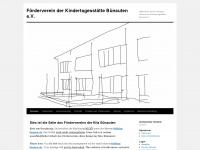 kita-buenau.de Webseite Vorschau