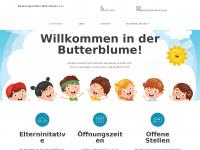 kita-butterblumemg.de Webseite Vorschau