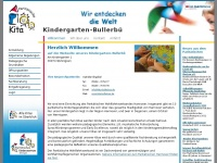 kita-bullerbue.de Webseite Vorschau