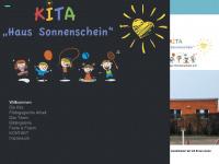 kita-haus-sonnenschein.de Webseite Vorschau