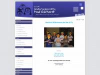 kita-paul-gerhardt.de Webseite Vorschau