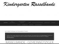 kita-rasselbande.de Webseite Vorschau