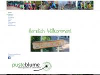 kita-pusteblume-borken.de Webseite Vorschau