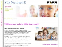 kitasunneschii.ch Webseite Vorschau