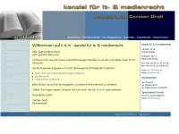 kitm.de Webseite Vorschau