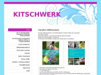 kitschwerk.de Webseite Vorschau