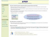 kitsi.de Webseite Vorschau