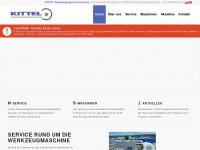kittel-werkzeugmaschinen.de Webseite Vorschau
