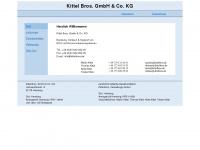 kittelbros.de Webseite Vorschau