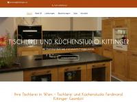 kittinger.at Webseite Vorschau
