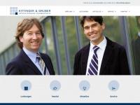 kittinger-gruber.at Webseite Vorschau