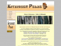kitzinger-pelze.de Webseite Vorschau