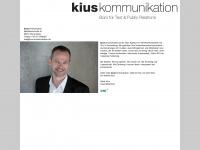 kius-kommunikation.de Webseite Vorschau