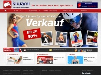 kiwami.de Webseite Vorschau