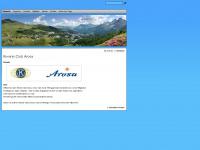 kiwanis-arosa.ch Webseite Vorschau