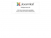 kiwigerman.de Webseite Vorschau