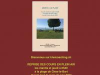 kiwicoaching.ch Webseite Vorschau