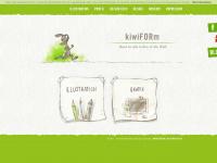 kiwiform.de Webseite Vorschau