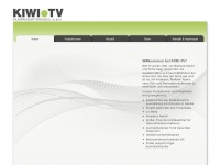 kiwitv.at Webseite Vorschau