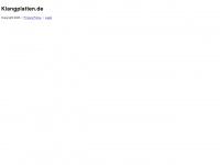 klangplatten.de Webseite Vorschau